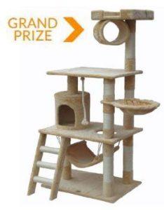 "Grand Prize - 62"" Cat Tree"